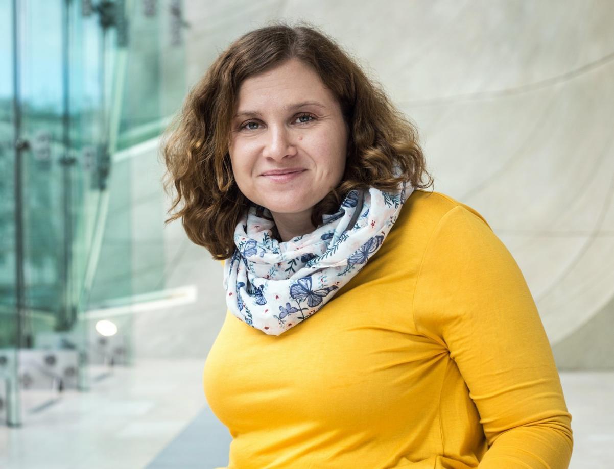 Wioleta Jóźwiak - koordynatorka ds. dostępności Muzeum POLIN